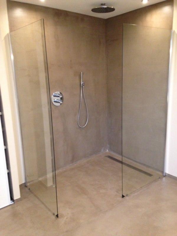 comment raliser une douche litalienne en bton cir