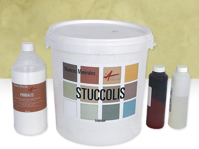 Enduit stuc l 39 argile et la chaux stuccolis arcane for Stuc a la chaux toupret